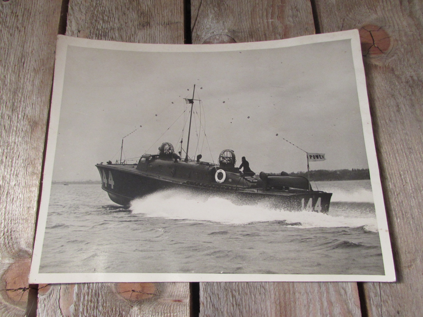 1944 photo of the R.A.F. launch 144